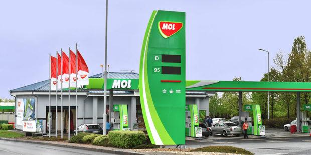 Skupina MOL loni v tuzemsku zvýšila čistý zisk, do konce roku budou všechny stanice Pap Oil v zelené