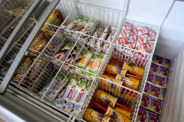 Zmrzliny představují vítaný sortiment na čerpací stanici