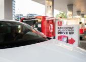 DRIVE UP míří do ČR, výběr peněz rovnou z auta je možný na Benzině