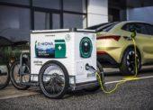 Kurýři budou po Praze vozit nabíjecí stanice pro elektromobily