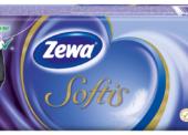 Papírový program: Kapesníky Zewa Softis, odolné vůči praní