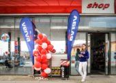 Benzina otevřela na Slovensku první čerpací stanici
