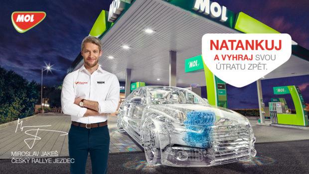 Vpalivové kampani vsadil MOL na tváře rallye závodníků i českou soutěživost