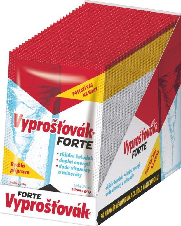 Doplňky stravy: Vyprošťovák Forte