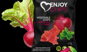 Zdravé snacky: Enjoy Chips