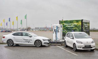 Škoda auto přiváží do Prahy jedinečnou technologii pro nabíjení elektromobilů
