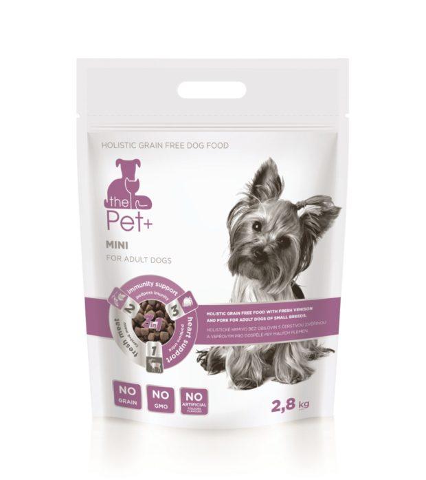 Pet food: thePet+ Mini: krmivo pro malé hrdiny