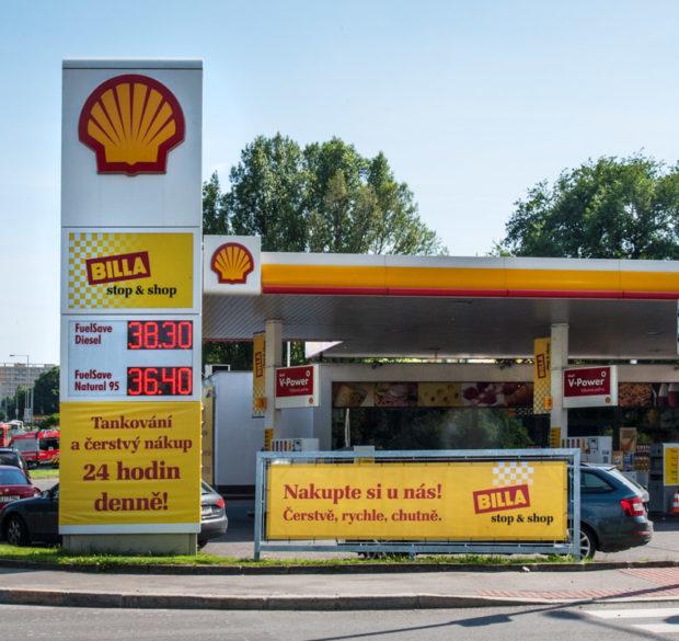 Billa a Shell otevřely 70. prodejnu Billa stop & shop