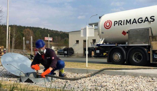 Do uzavřených oblastí jsou zajištěny bezpečné dodávky LPG