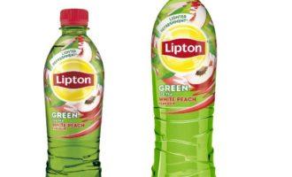 Nealkoholické nápoje: Zelený ledový čaj Lipton s příchutí bílé broskve