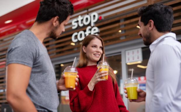 Benzina akceptuje platby stravenkami za občerstvení a potraviny