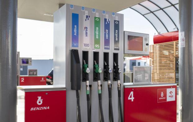 Benzina hlásí oživení české ekonomiky