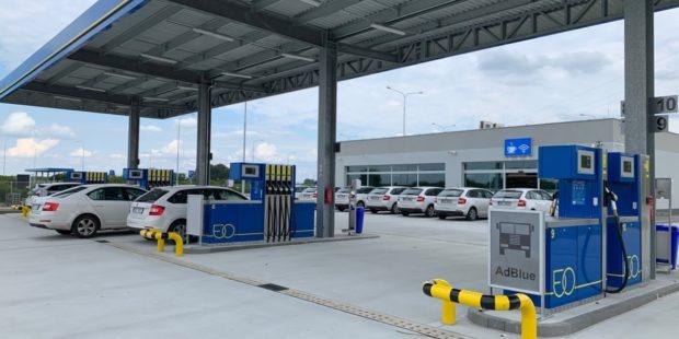 EuroOil otevřel dvě nové pumpy u Přerova