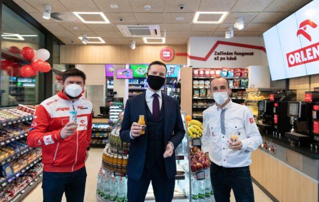Benzina Orlen otevírá první obchod s potravinami a občerstvením Stop Cafe mimo čerpačky