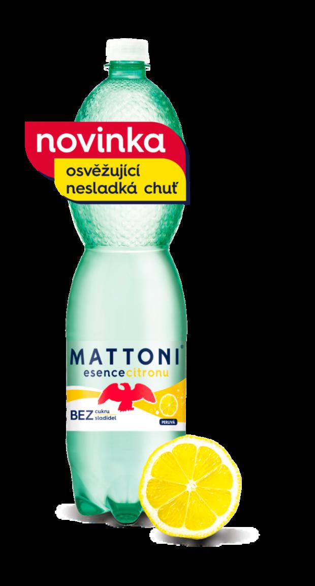 Nealkoholické nápoje: Mattoni Esence. Změňte svůj pohled na osvěžení