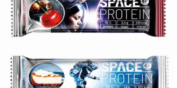 Proteinové tyčinky: Space Protein